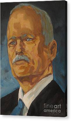 The Late Honorable Jack Layton Canvas Print by John Malone