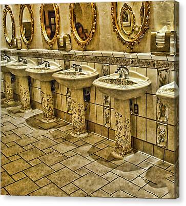 The Lav Of Luxury Canvas Print by Anne Rodkin