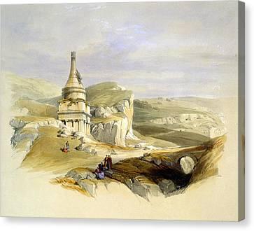 The Legendary Tomb Of David Son Canvas Print by Munir Alawi