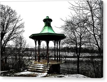 The Lemon Hill Gazebo - Philadelphia Canvas Print by Bill Cannon