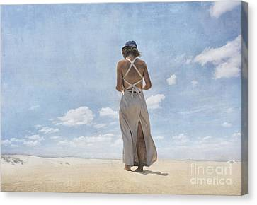 The Letter Canvas Print by Paul Grand