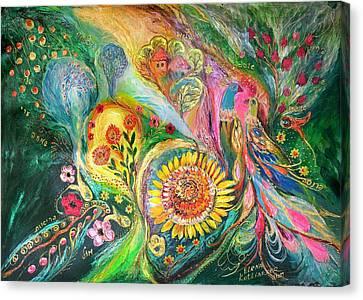 The Levant Village Canvas Print by Elena Kotliarker