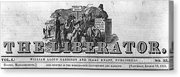 The Liberator Masthead Canvas Print by Photo Researchers