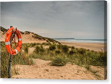 The Lifebelt Canvas Print by Steve Purnell