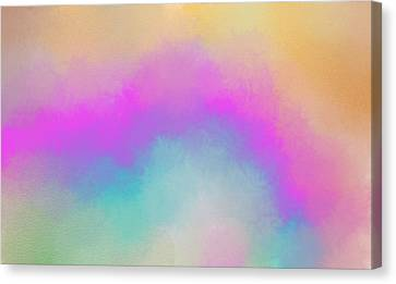 The Light Above Canvas Print