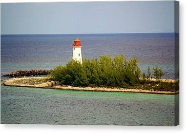 The Light House Canvas Print by Paulette Thomas