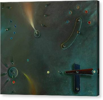 The Light Making Machine Canvas Print by Otto Farkas