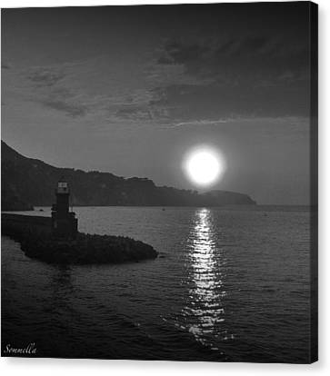 The Lighthouse Canvas Print by Gianluca Sommella