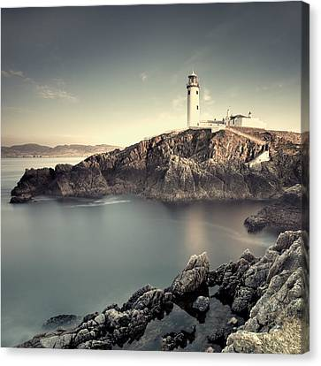 Cliff Lee Canvas Print - The Lighthouse by Pawel Klarecki