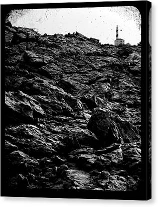 Canvas Print featuring the photograph The Lighthouse1 by Pedro Cardona