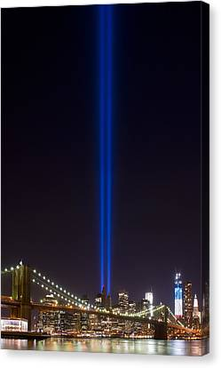 The Lights - 9-11 Tribute Canvas Print