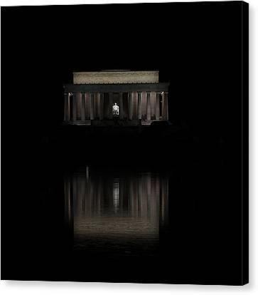 The Lincoln Memorial Canvas Print by Kim Hojnacki