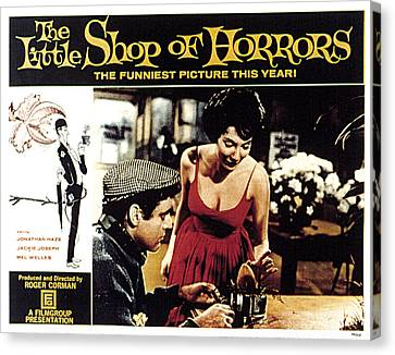 The Little Shop Of Horrors, Jonathan Canvas Print by Everett