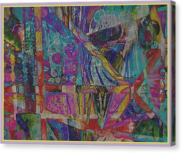 Gershwin Canvas Print - The Living Is Easy by Mindy Newman