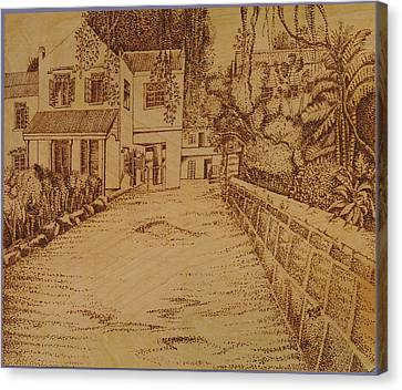The Lodge School Canvas Print by Richard Jules