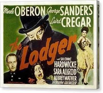 The Lodger, Laird Cregar, George Canvas Print