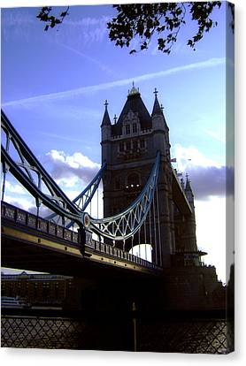 The London Tower Bridge Canvas Print by Steve K