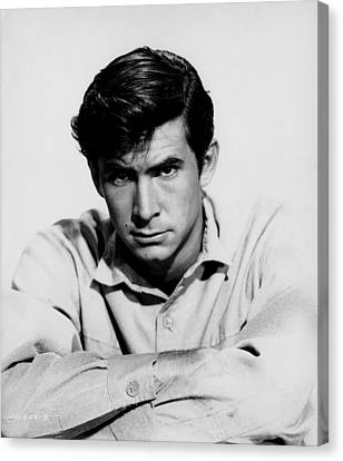 The Lonely Man, Anthony Perkins, 1957 Canvas Print by Everett