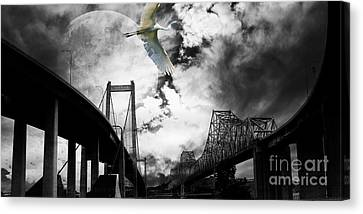 The Long Journey Canvas Print by Wingsdomain Art and Photography