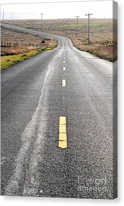 The Long Road Home . 7d9898 Canvas Print by Wingsdomain Art and Photography