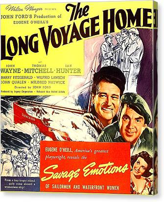 The Long Voyage Home, John Wayne Canvas Print by Everett