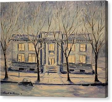 The Long Winter Canvas Print by Daniel W Green