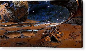 The Lost Probe Canvas Print