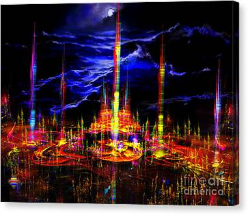 The Lost World Canvas Print by Vidka Art