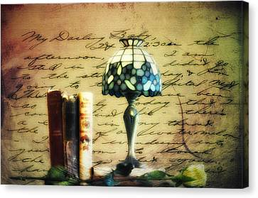 The Love Letter Canvas Print by Bill Cannon