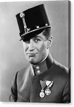 The Love Parade, Maurice Chevalier, 1929 Canvas Print by Everett