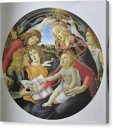 The Madonna Of The Magnificent Canvas Print by Carl Purcell
