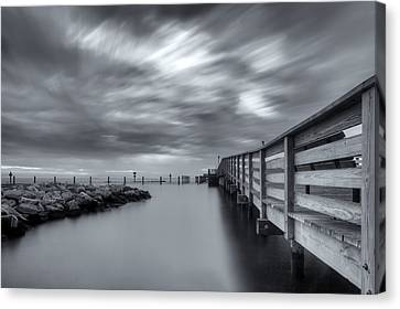 Stopper Canvas Print - the magic of the Big Stopper by Edward Kreis