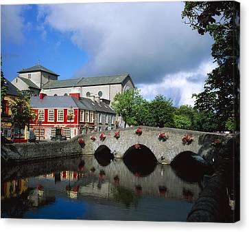 The Mall, Westport, Co Mayo, Ireland Canvas Print