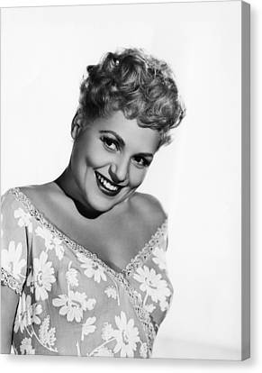 The Marrying Kind, Judy Holliday, 1952 Canvas Print by Everett