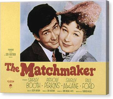 The Matchmaker, Anthony Perkins Canvas Print by Everett