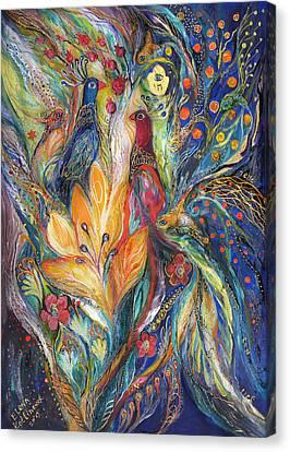 The Melody Of Love Canvas Print by Elena Kotliarker