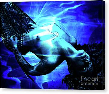 The Mermaid Canvas Print by The DigArtisT