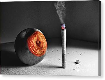 The Message  Canvas Print by Besar Leka
