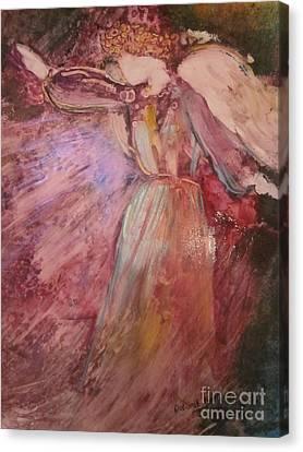 The Messenger Canvas Print by Deborah Nell