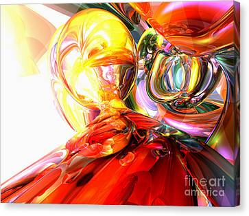 Purple Grapes Canvas Print - The Method Abstract by Alexander Butler