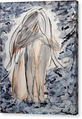 The Migraine Canvas Print by Alethea McKee