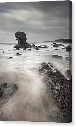The Milky Sea Canvas Print by Andy Astbury