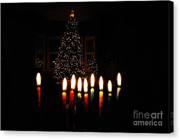 Canvas Print featuring the photograph The Miracle Of Christmas by Linda Mesibov