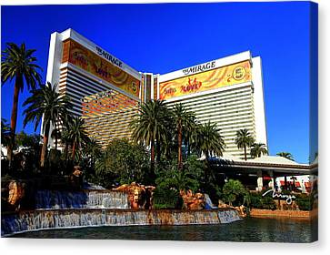 Canvas Print featuring the photograph The Mirage by Linda Edgecomb