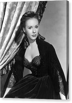 The Mississippi Gambler, Piper Laurie Canvas Print by Everett