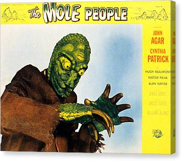 The Mole People, 1956 Canvas Print by Everett