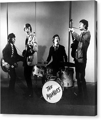 The Monkees, L-r Davy Jones, Peter Canvas Print by Everett
