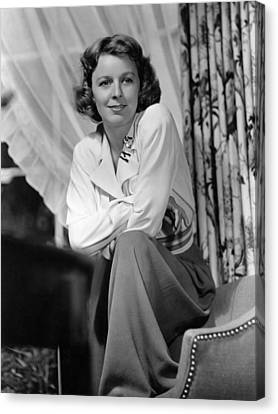 The Mortal Storm, Margaret Sullavan Canvas Print
