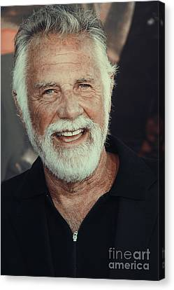 The Most Interesting Man In The World Canvas Print by Nina Prommer