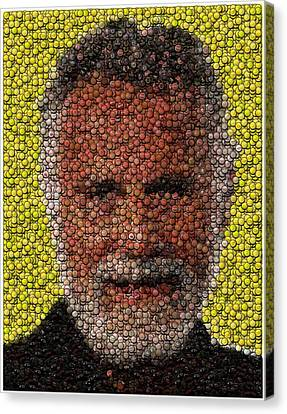 The Most Interesting Mosaic In The World Canvas Print by Paul Van Scott